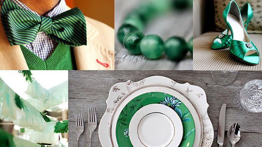 NoviasEnBoda.com | Bodas e Ideas en Color Verde Esmeralda ...