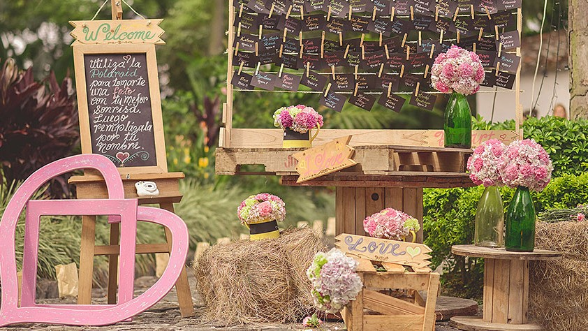 Tendencias en decoraci n de bodas bodas coloniales - Decoracion de bodas en jardines ...