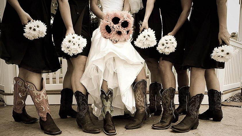 Bodas temáticas Vaqueras o del Oeste
