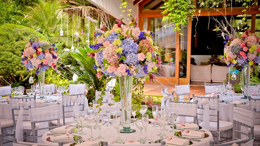 Bodas en jardin 2017 for Jardines decorados para bodas