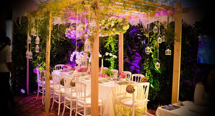 Ideas y fotos de decoraci n de bodas for Decoracion de jardines en panama