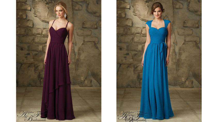 Vestidos para damas de honor panama